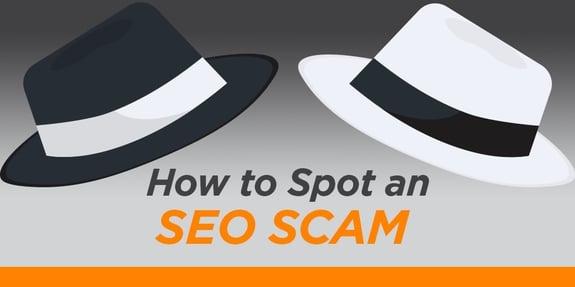 How to Spot an SEO Scam