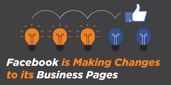 Facebook is Making Changes to its Business Pages