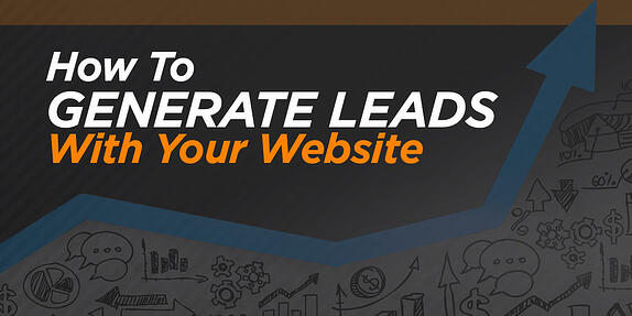 How To Generate Leads Online With Your Website