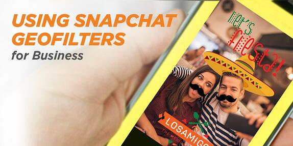 Using Snapchat On-Demand Geofilters for Business