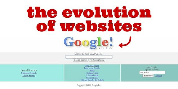 The Evolution of Websites
