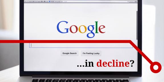 Google Search Market Share Slowly Declining