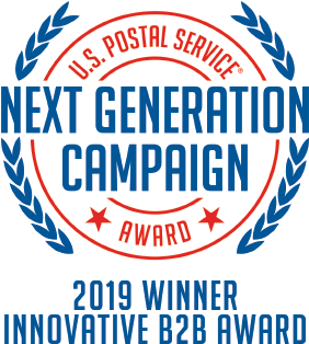 USPS Next Gen Campaign Award Winner Logo