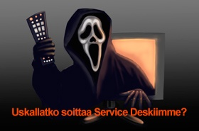 VIDEO: Service Desk - Halloween edition