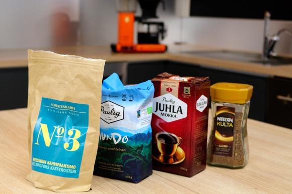 Millainen kahvi teillä maistuu työpaikalla?
