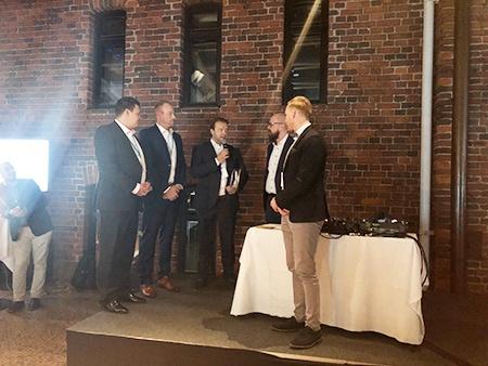 Praecomille Ciscon Vuoden Spark-kumppani 2017 titteli