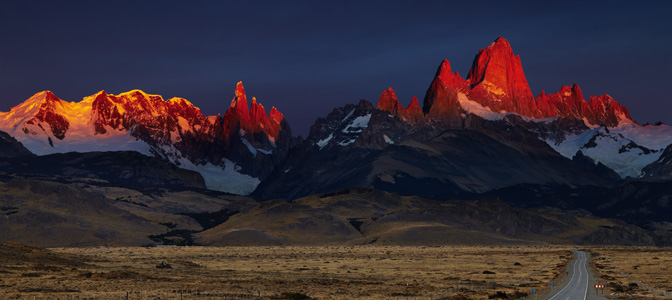 Mount Fitz Roy at Sunrise
