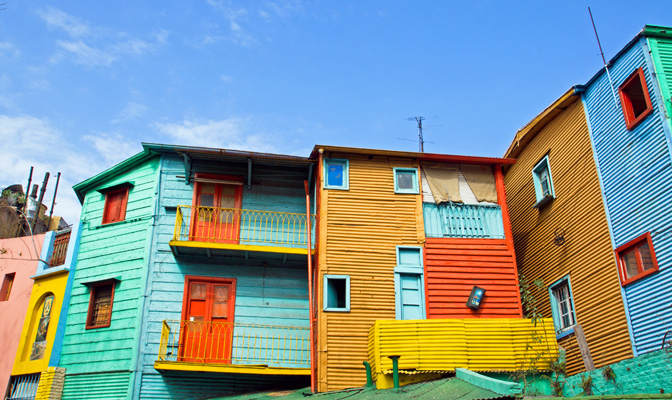 Colorful Buildings of La Boca