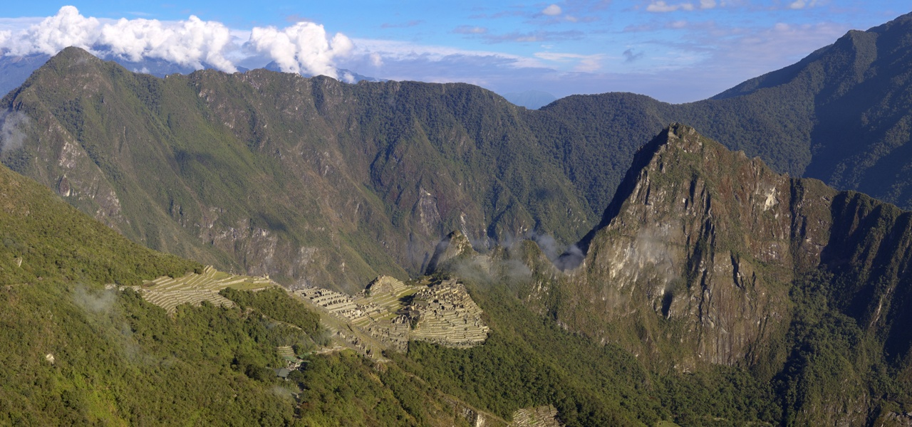 Machu Picchu From The Sungate