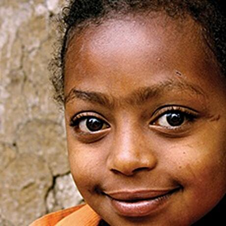 Young Ethiopian girl