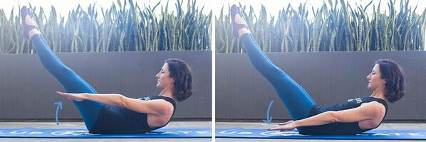 5 Pilates Moves for Full Body Toning!