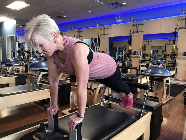 Giving Pilates a chance at 56! - Sandys Success Story
