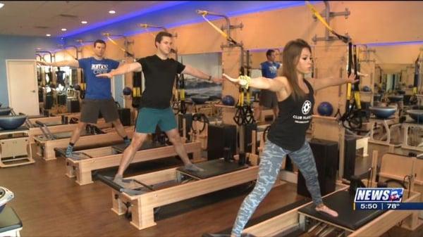 Fitness Friday at Club Pilates