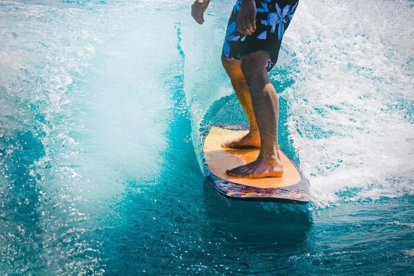Pilates and Surfing