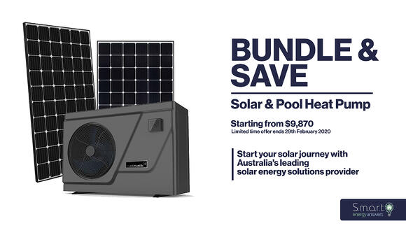 Bundle & Save: Solar & Pool Heat Pump