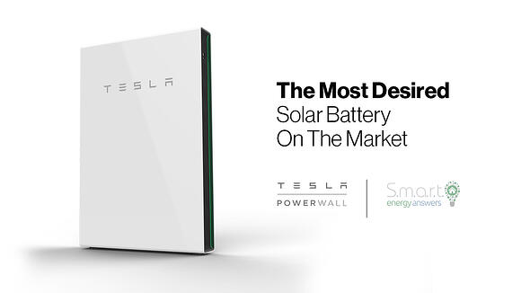The Most Desired Solar Battery On The Market - Tesla Powerwall