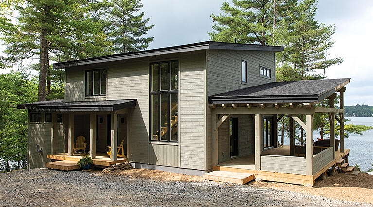 Following the Trend: Timber Frame Homes are now Contemporary