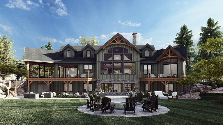 New House Plan: The Rossmore