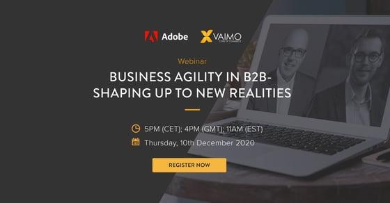 B2B webinar - Business Agility