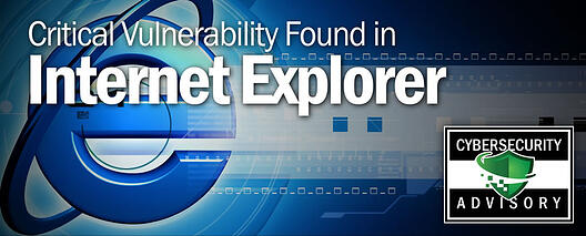 Security Advisory for IE