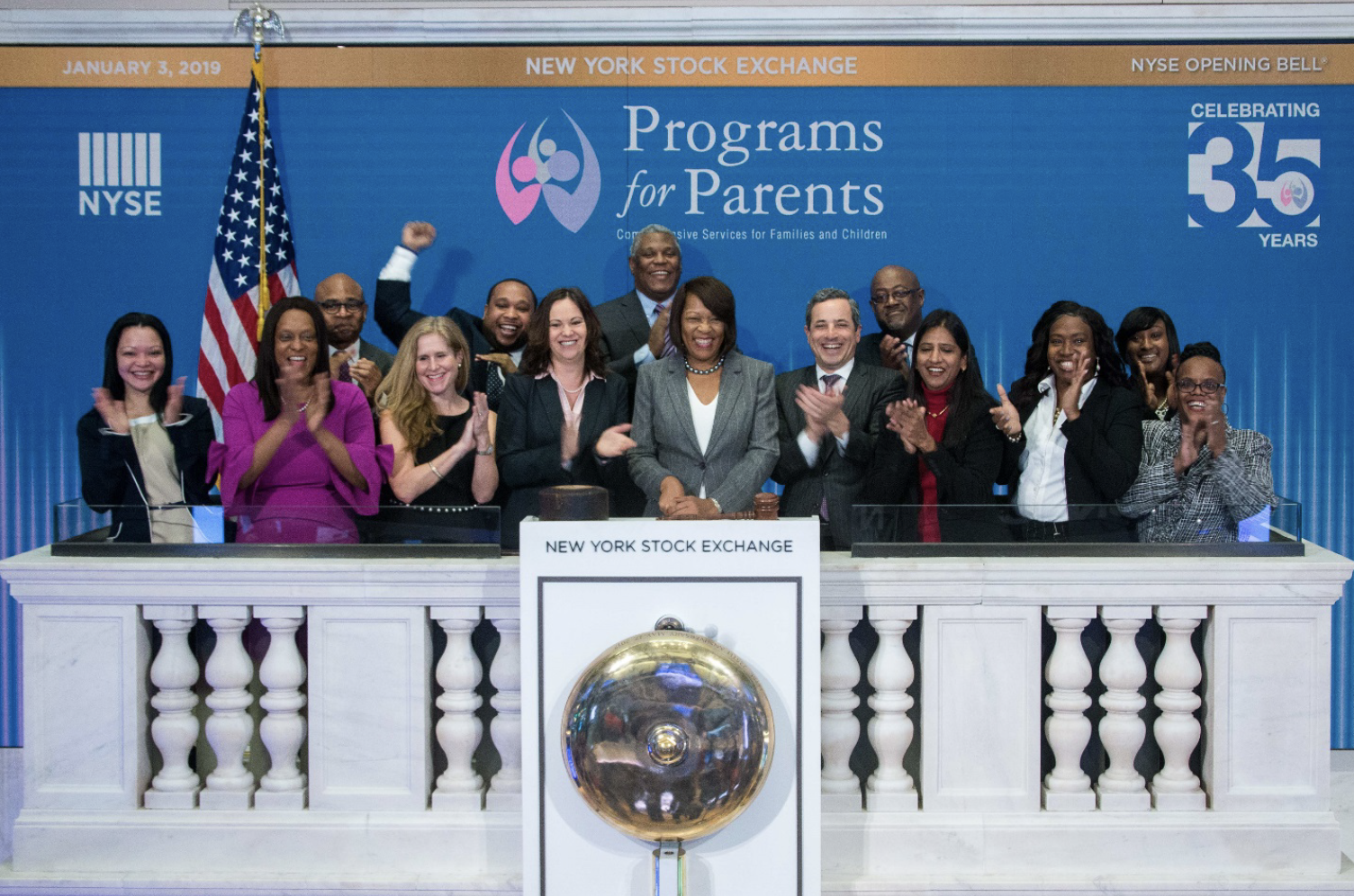 Programs for Parents at the NYSE