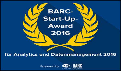 Valsight als Finalist beim BARC Start-up Award