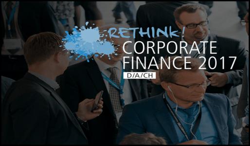 Valsight auf der Rethink! Corporate Finance 2017