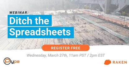 WEBINAR: Ditch the Spreadsheets