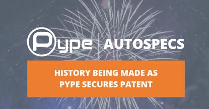 Pype Secures AutoSpecs Patent