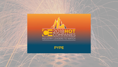 Pype Named in CE's 2018 Hot Companies - Industry Leaders to Watch
