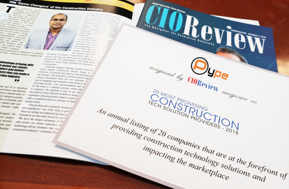 CIOReview Magazine Names Pype as a