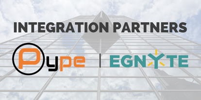 Pype's New Integration with Egnyte Facilitates Better Turnover Experience