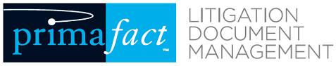 Primafact Litigation Document Management Logo