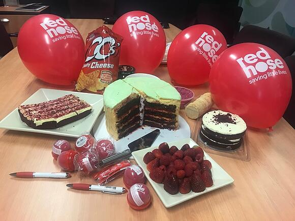 Red Nose Day morning tea