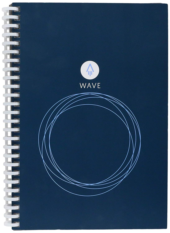 Microwave erase notebook