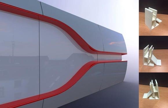 Holden prototyping signage 3D models