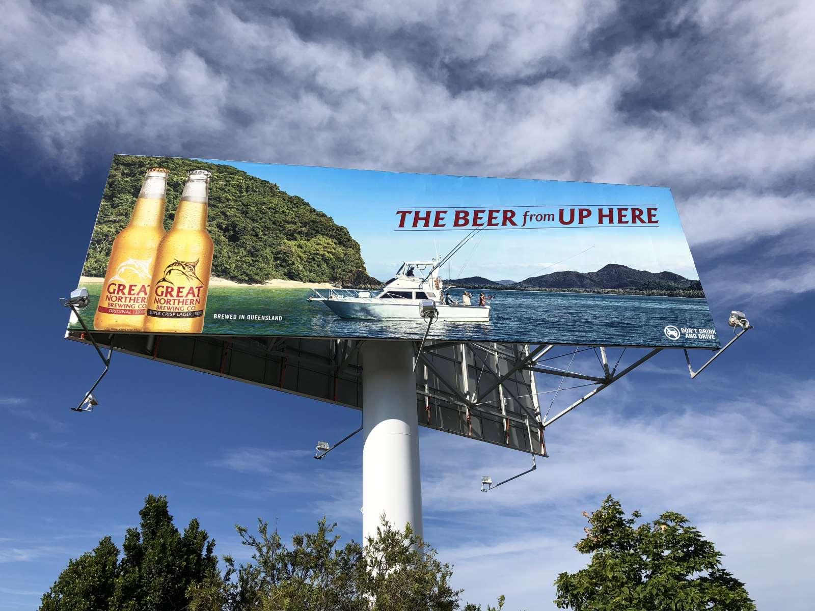 Yatala Brewery Billboard Project