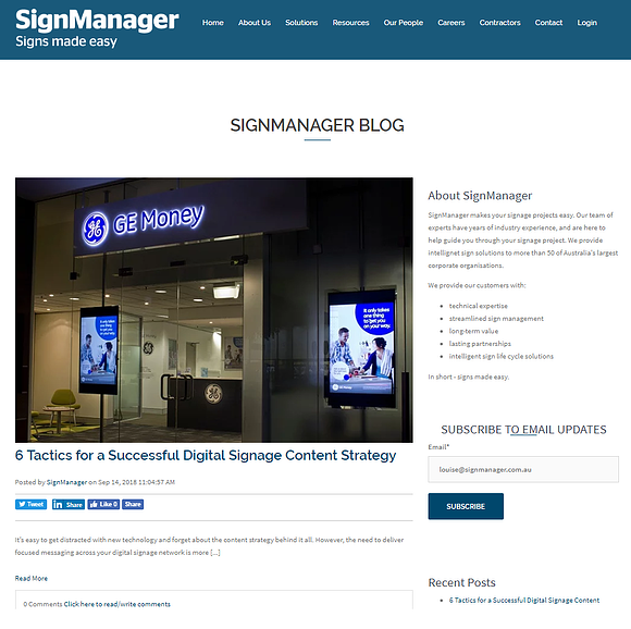 SignManager Blog