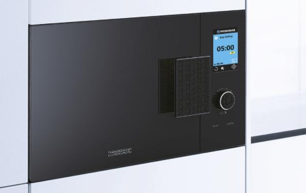 A reverse microwave - freezer