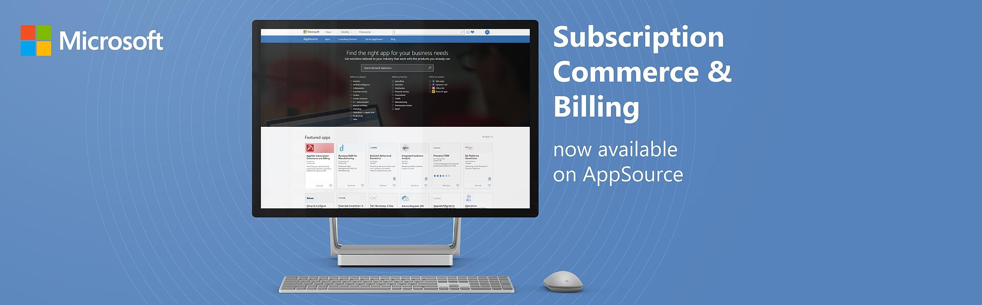 AppXite Subscription Commerce and Billing Now Available on Microsoft AppSource
