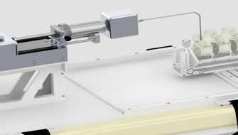 Remote injection system for bone cement