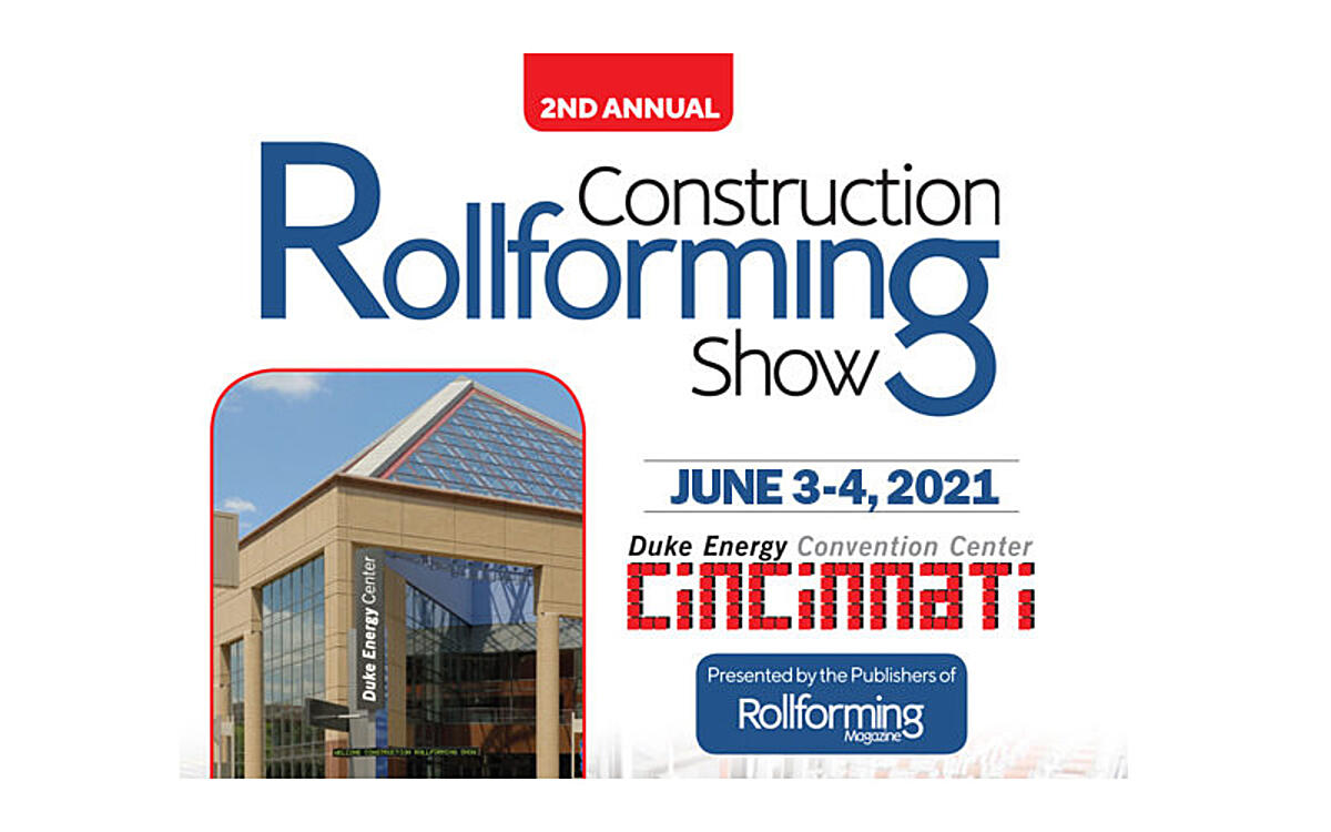 Save the Date: Construction Rollforming Show