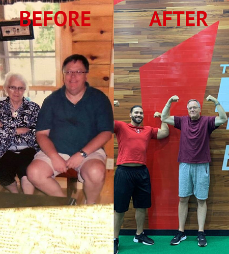 Blog before and after