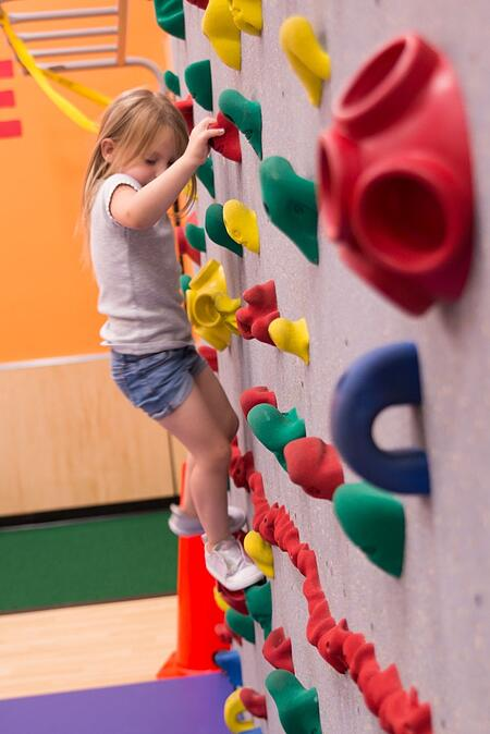 edge fitness rock wall
