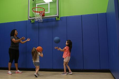edge fitness basketball court
