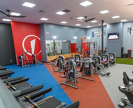women's only workout area edge fitness
