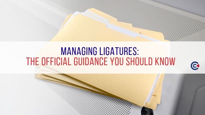 Managing Ligatures: The Official Guidance You Should Know