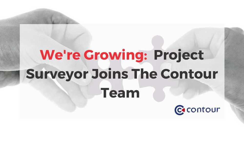 We're Growing: Project Surveyor Joins The Contour Team