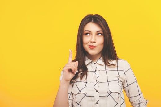 woman-yellow-background