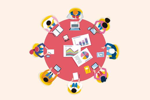 people-office-round-table